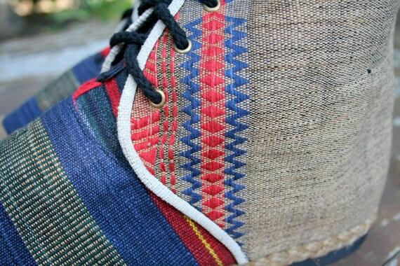 Boot ethnique Tribal Naga en Bottes hommes Vegan courtes Textiles Jacob qwCZ8FOx