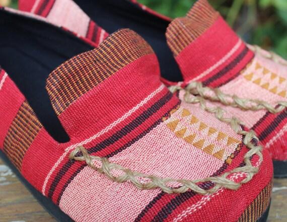 homme Tribal tiss mocassins Naga pour 455FqOxw6