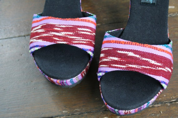 Out Cut compens sandales talon Womens Vegan xwZ7n