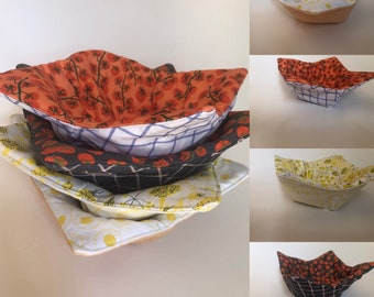 Everyday table decor Reversible bowl cosy for hot and cold Decorative Easter egg basket