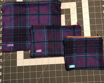 Abby Zipper Pouch Set