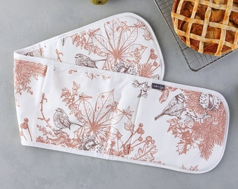 Autumn Garden Oven Glove