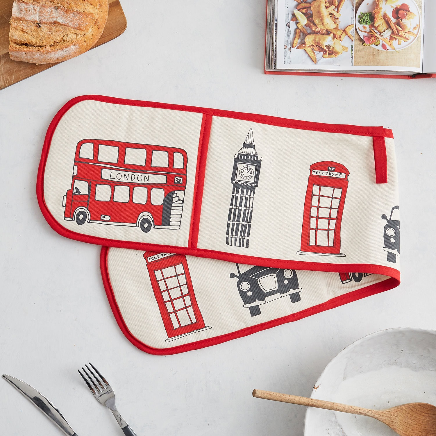 London Skyline Doppel-Backofen Handschuh