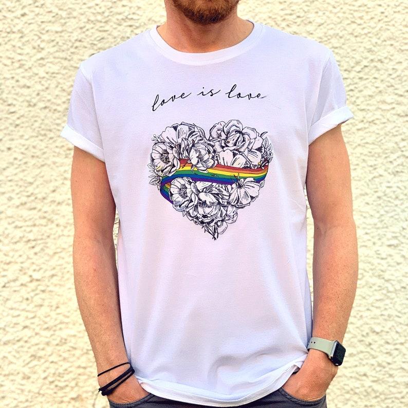 Love is Love Rainbow Unisex T-Shirt