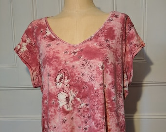 XXL Kaylee Frye Cosplay Top Pink Floral - Ready to Ship