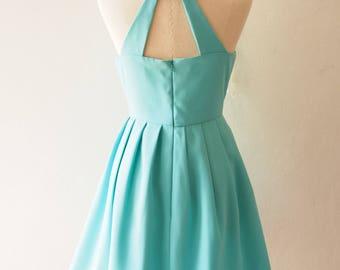 1d1daad7aa62 Love Potion - Pastel Blue Dress Vintage Inspired Party Dress Blue Summer  Dress Sundress Bridesmaid Dress Prom Cocktail Dress no 33