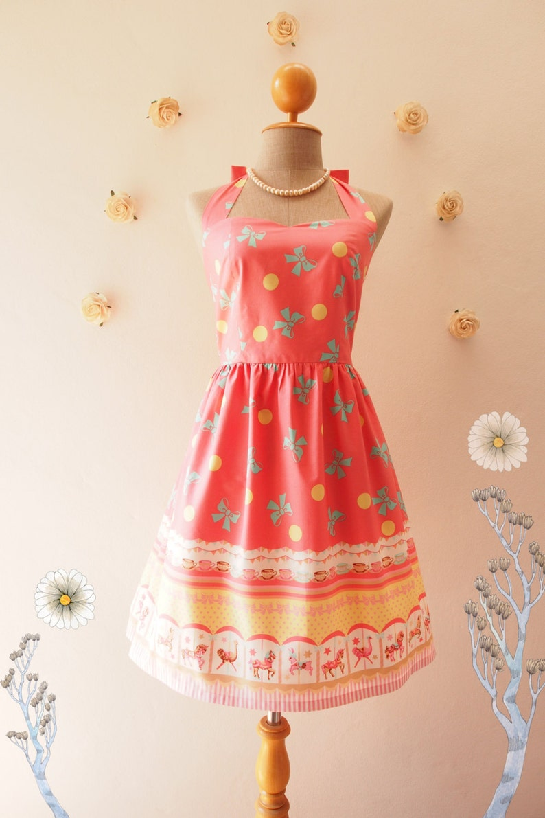 9beb148ed6 Easter Dress Carousel Dress Merry Go Round Dress Fancy Vintage