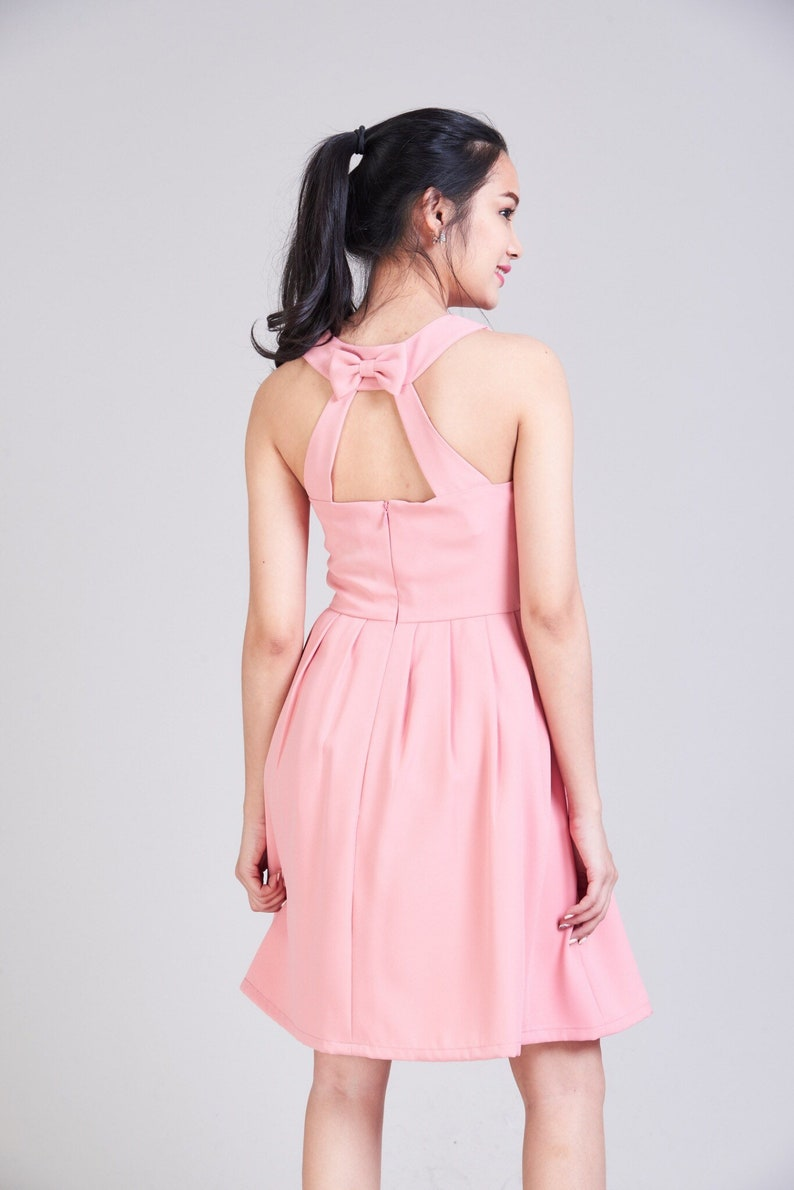 ee69a3770e5 Love Potion Blush Pink Dress Short Party Dress Bridal Party