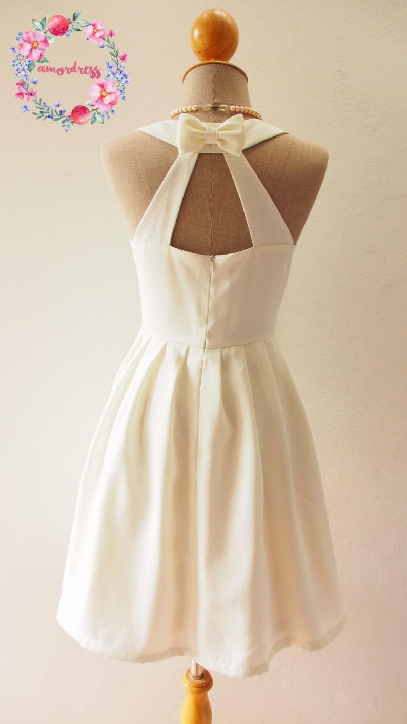 d58f0623733 LOVE POTION Off White Dress Plus Size Dress Audrey Hepburn