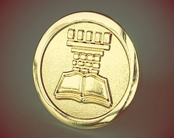 JW.org pin for Jehovah's Witnesses gold watchtower JW gift