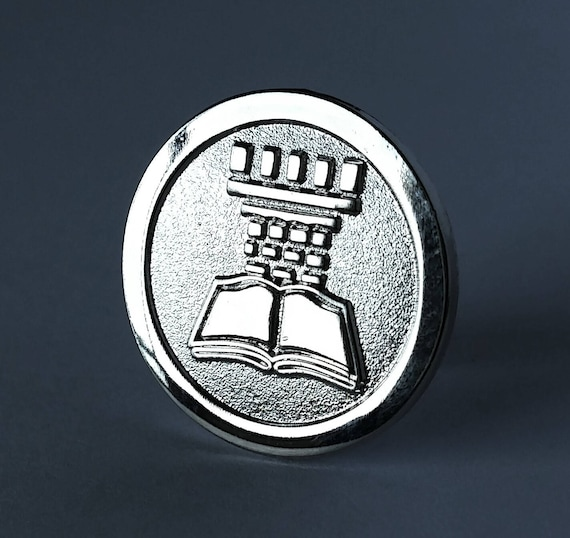 Jw Pin For Jehovahs Witnesses Silver Watchtower Jw Etsy