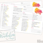 LimeLight Beauty Consultation Notepads {Set of 2}