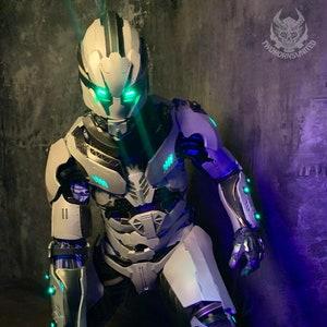 mechanical arm futuristic prosthetic men or women shoulder armor robot arm cyborg arm armour