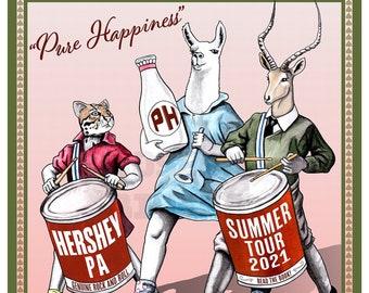 Phish Hershey 2021- phan art print