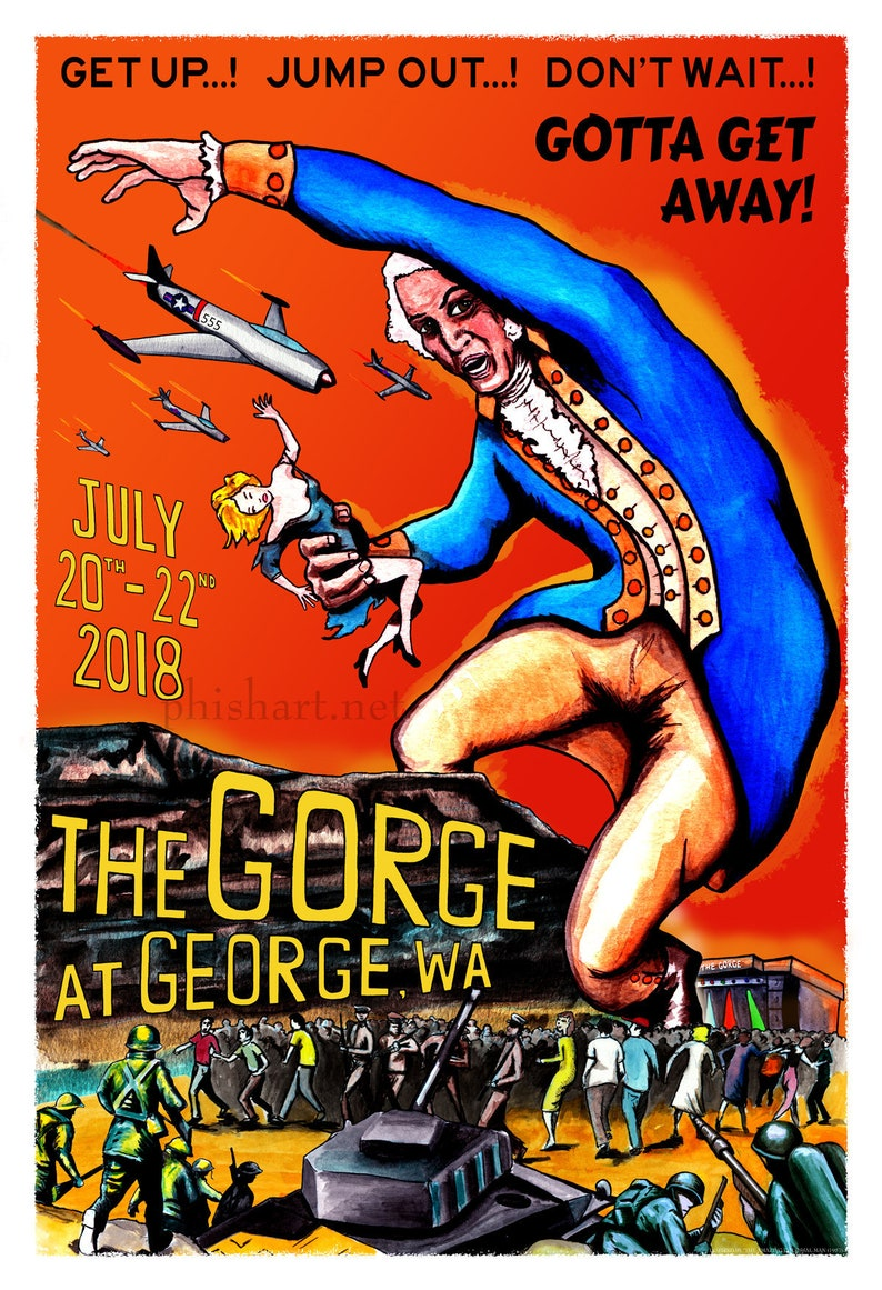 c14a89eb0eb Phish The Gorge 2018