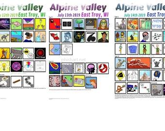 Phish Alpine Valley 2019 setlists