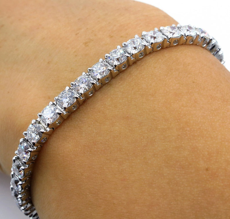Engagement & Wedding Diamond Tennis Bracelet 1.60 Tcw Color D Clarity Vs2 Round Cut 14k Rose Gold Spare No Cost At Any Cost Diamond