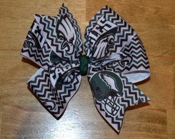 8f2c493f9390 Philadelphia Eagles Bows Hair Bow