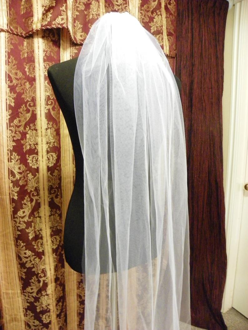 Waltz wedding veil