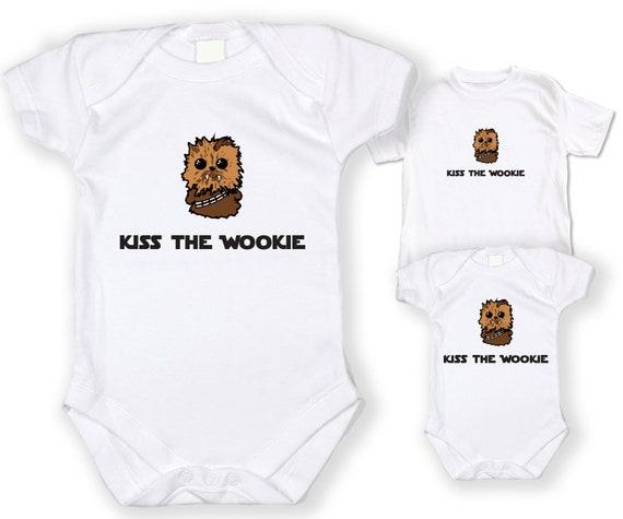 Stormpooper Jedi Onesie ORGANIC Cotton Romper Baby Shower Gift Funny Present