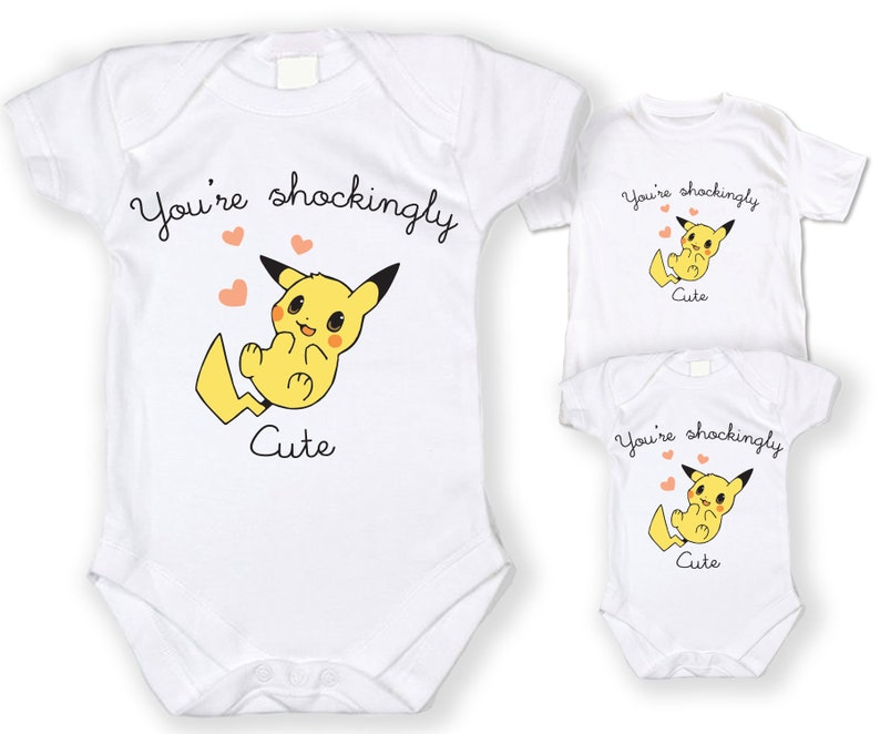 e02fe343f Pikachu You are shockingly Cute ONESIE Pokemon Go | Etsy