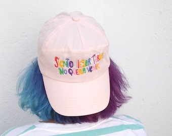 Rainbow cap for introverts