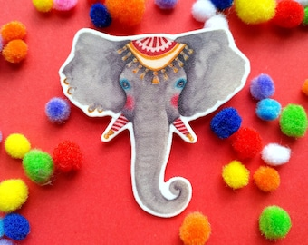 The circus elephant brooch