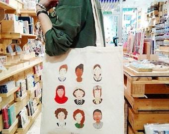 Mujerracas tote bag