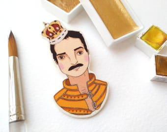Illustrated Brooches