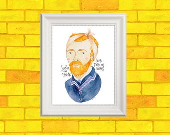 Vincent VanGogh post card