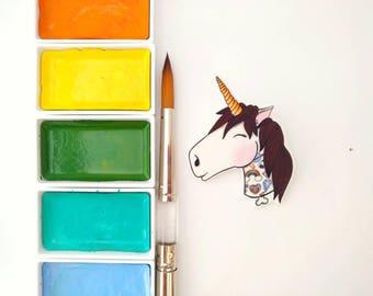Non existent tattoo unicorn