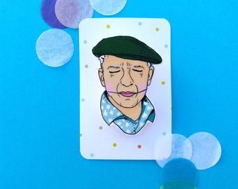 Pablo Picasso brooch