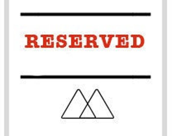 RESERVED for brian