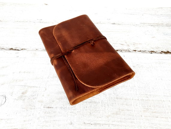 Refillable leather Journal. Moleskine refillable cover, Leuchtturm1917 book, A5 leather journal. Refillable Book Cover. Free Personalisation