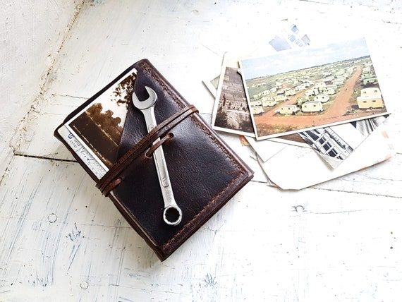 Travel Journal. Leather Journal. Leather sketchbook. Leather notebook. Leather organizer