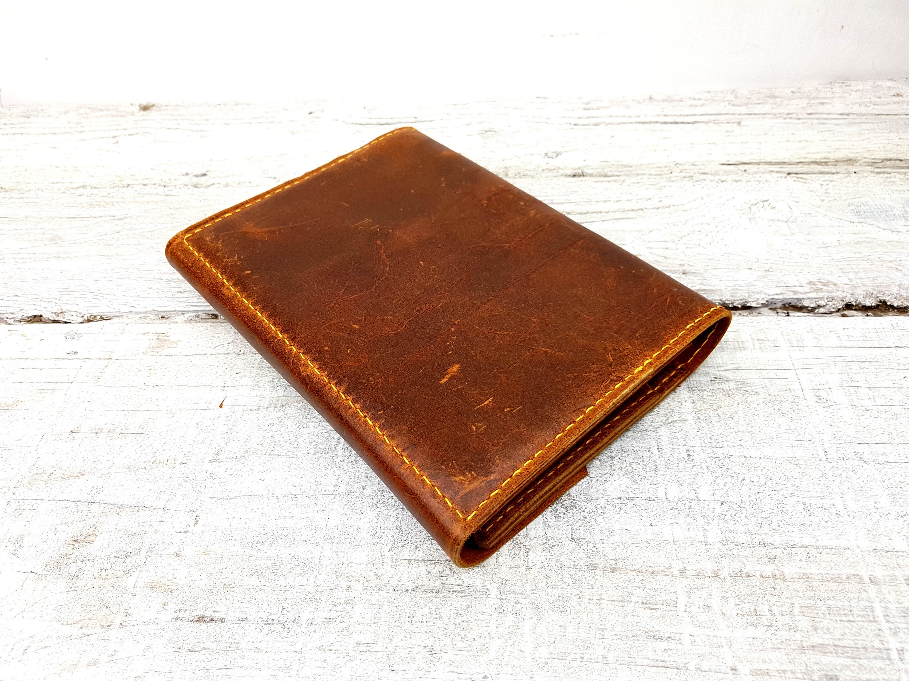Refillable leather Journal  Leuchtturm1917 cover   A5