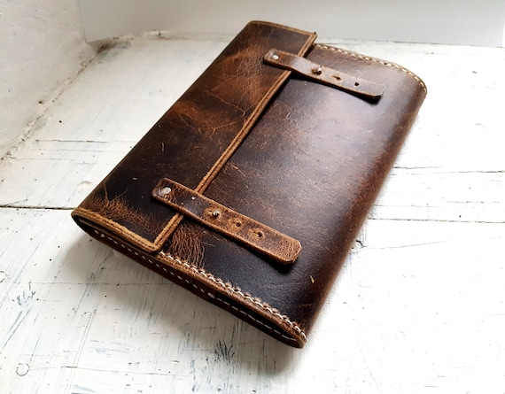 Refillable leather Journal. Leuchtturm1917 cover . A5 refillable journal. Leather Book Cover. Refillable Book Cover. Free Personalisation
