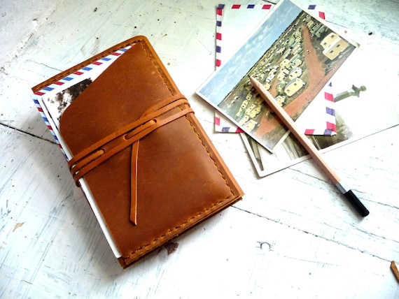 Travel journal cover. Pocket moleskine cover. Small moleskine leather case. Travel accessories. Notebook cover. Moleskine organizer