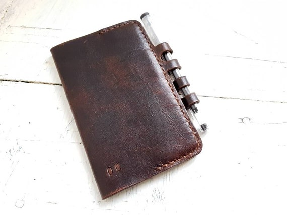 Leather moleskine cover, moleskine cahier, leather cahier cover, pocket moleskine leather cover, notebook cover