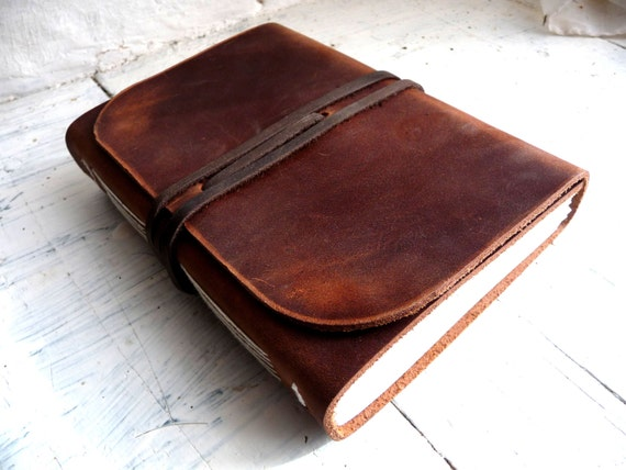 A5 Leather Sketchbook. Leather Journal. Leather travel Journal