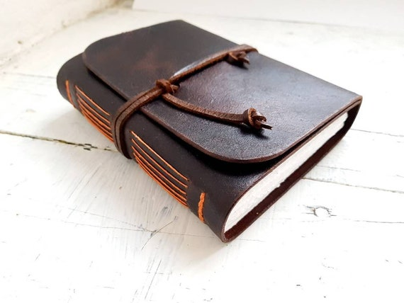 Leather journal, A6, A5, A4 Sketchbook, Watercolor journal, Leather notebook, Watercolor book, artists book, Diary, Personalisation