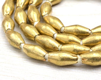 """60 Bicone beads ,rice beads , 66 cm  / 26"""" inch long,  10x5mm , hole 2mm ,Jewelry Supplies Beads"""