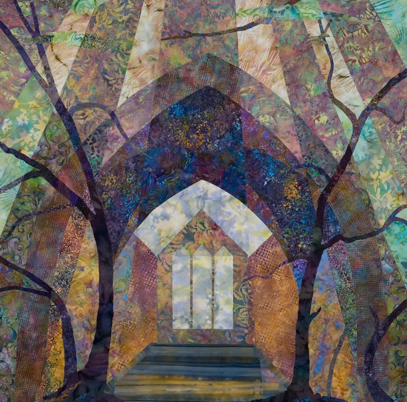 Cathedral in the Forest Print image 0