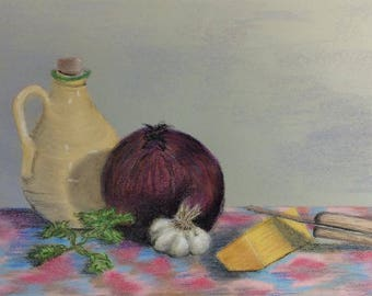 """Signed Print of """"The Basics"""" by MaryLee Sunseri"""