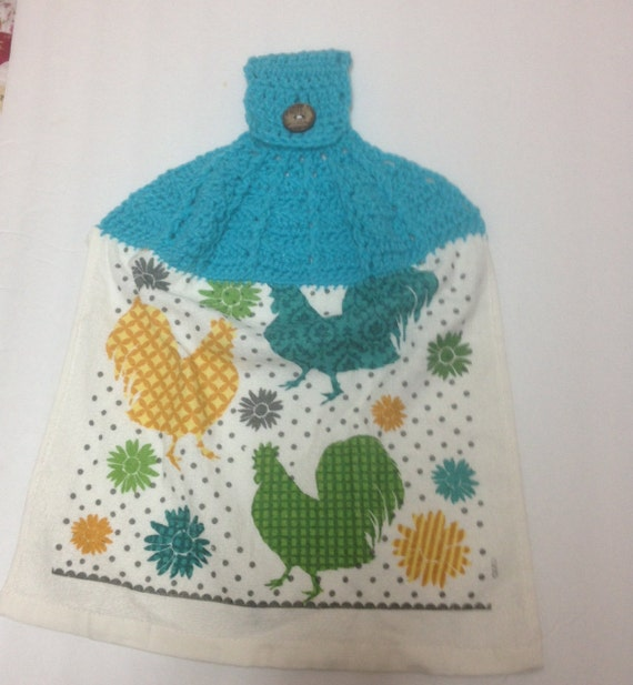 Crochet Post Stitch Towel Topper Pattern Digital Download Pdf Etsy