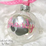 Personalized Pet Ornament - Pet Christmas Ornament