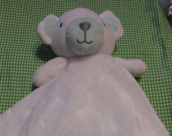 Lovey Blankie Personalized Bear Security Blanket fleece