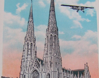 20s 30s Set of 17 POSTCARDS Cathedrals and Churches in US and Canada
