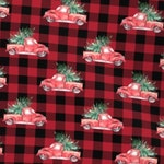 Pre-Order Holiday Pickup- Christmas Dog Bandana- Adjustable 3 Snap Custom Neck Size Bandana- Double Sided-Double Stitched