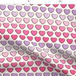 Valentine- Valentines Dog Bandana- Adjustable 3 Snap Custom Neck Size Bandana- Triple Layer-Double Stitched- Cotton